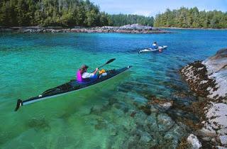Broken Islands Camping