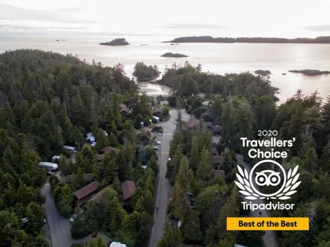 Tofino RV camping resort