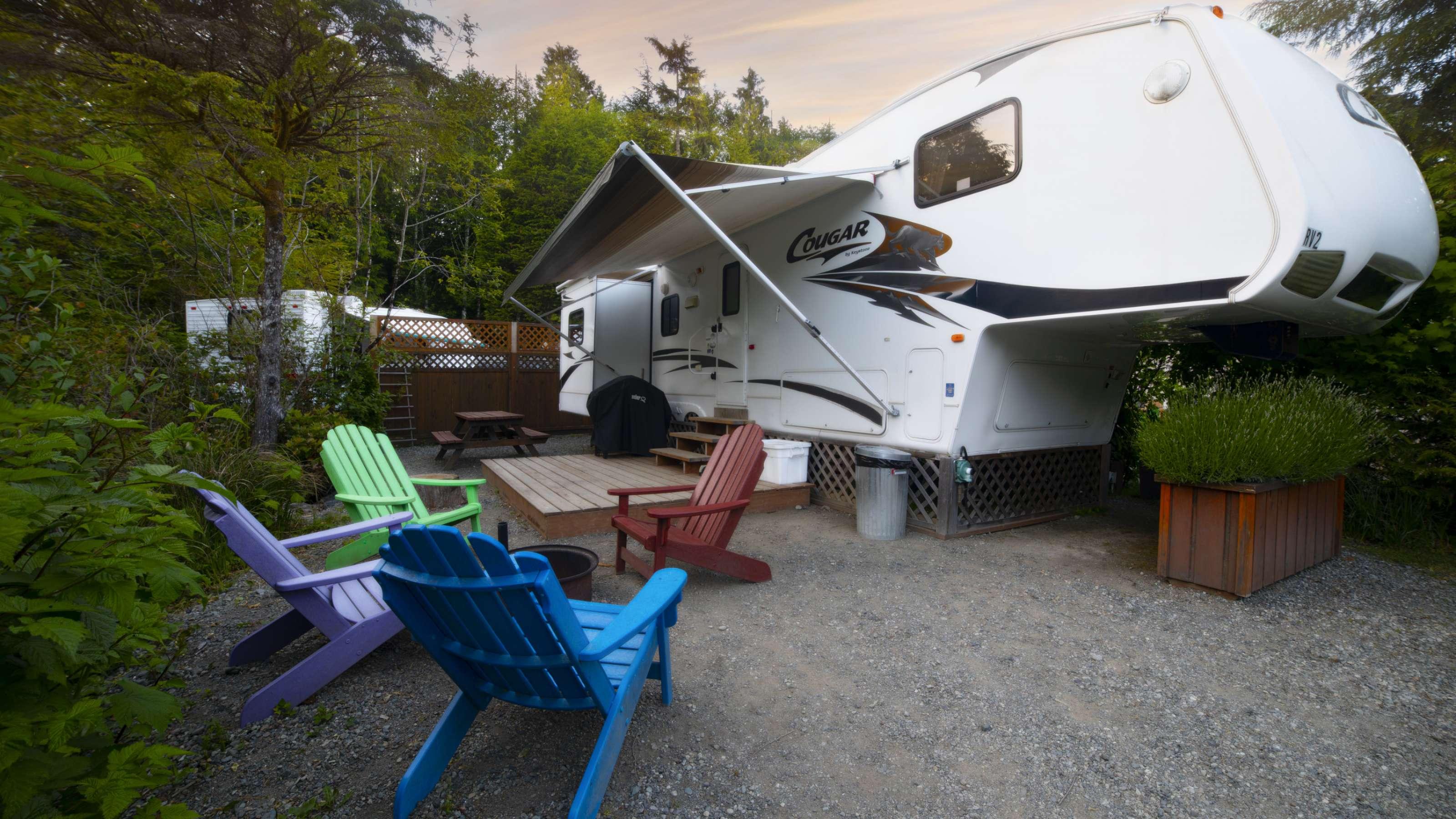Tofino Rv Park Rv Camping Steps To The Beach